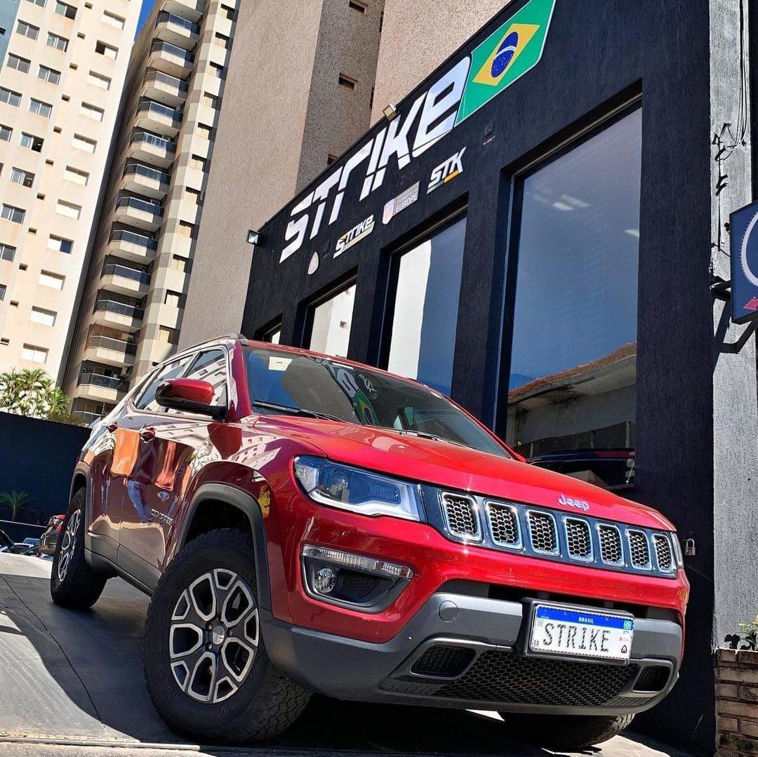 Jeep Compass remap performance potência Strike Brasil